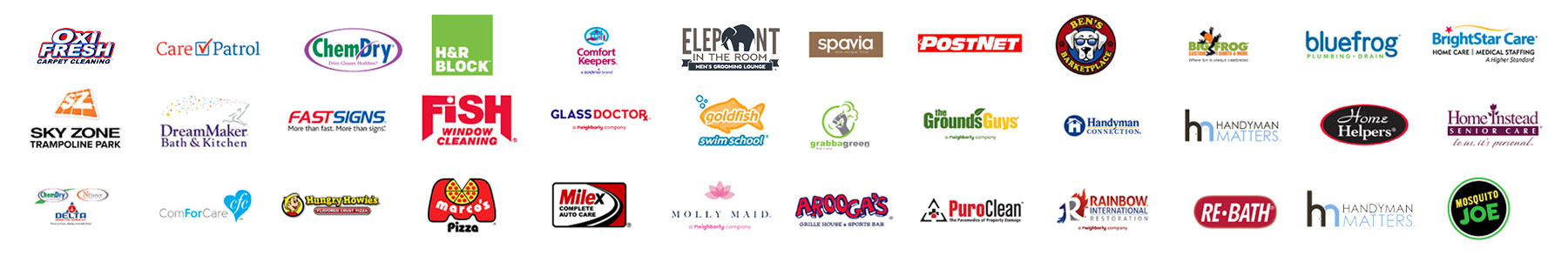 Brands We've Helped