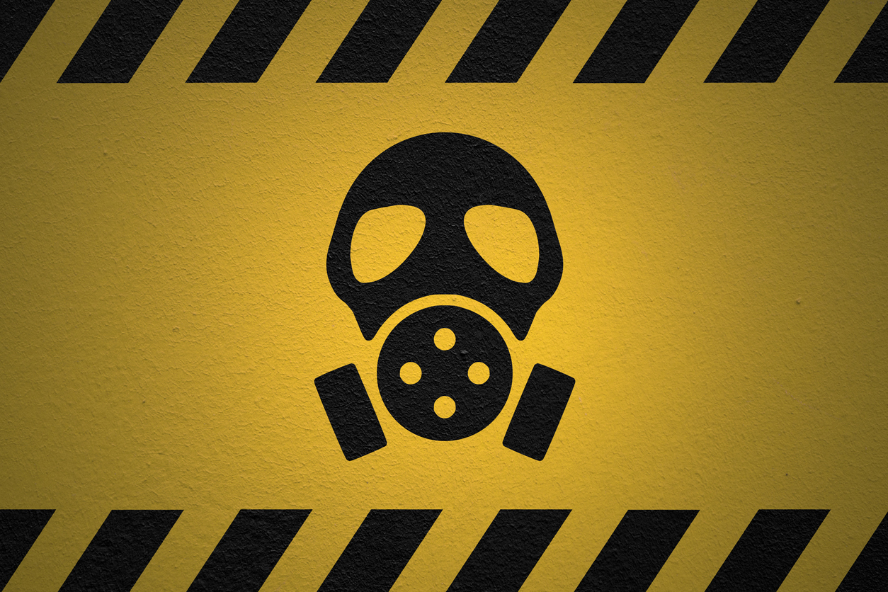 Danger Nuclear Fallout Sign