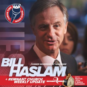 Former Governor of Tennessee Bill Haslam | The Promise & the Peril of Faith in the Public Square