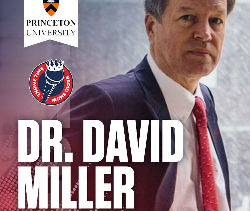 Princeton's Doctor David Miller | How to Gain Trust with Your Organization | Turning to the Bible for Advice on Trust