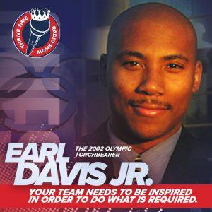 Inspiration 101 with 2002 Olympic Torchbearer Earl Davis Jr.
