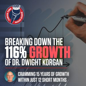 Breaking Down the 116% Growth of Dr. Dwight Korgan | Cramming 15 Years of Growth within Just 12 Short Months
