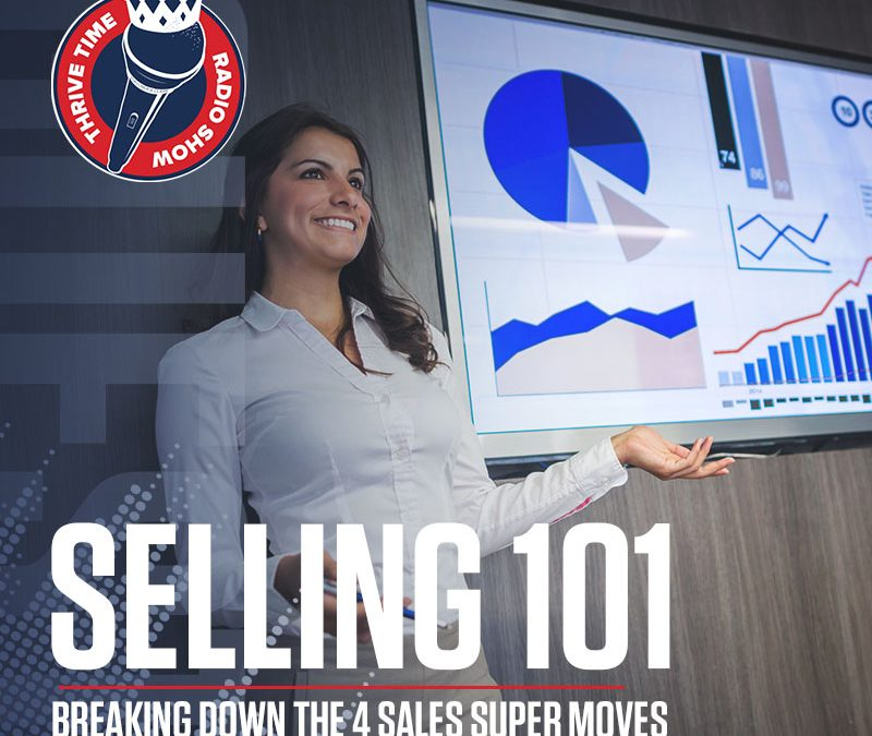 Selling 101   Breaking Down the 4 Sales Super Moves That You Must Use to Sell Well