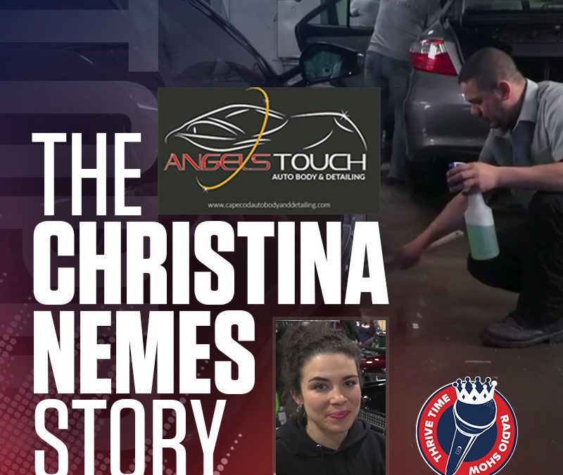Breaking Down the 170% Month-Over-Month Growth of the Massachusetts Based Angel's Touch Auto Body (The Christina Nemes Story)