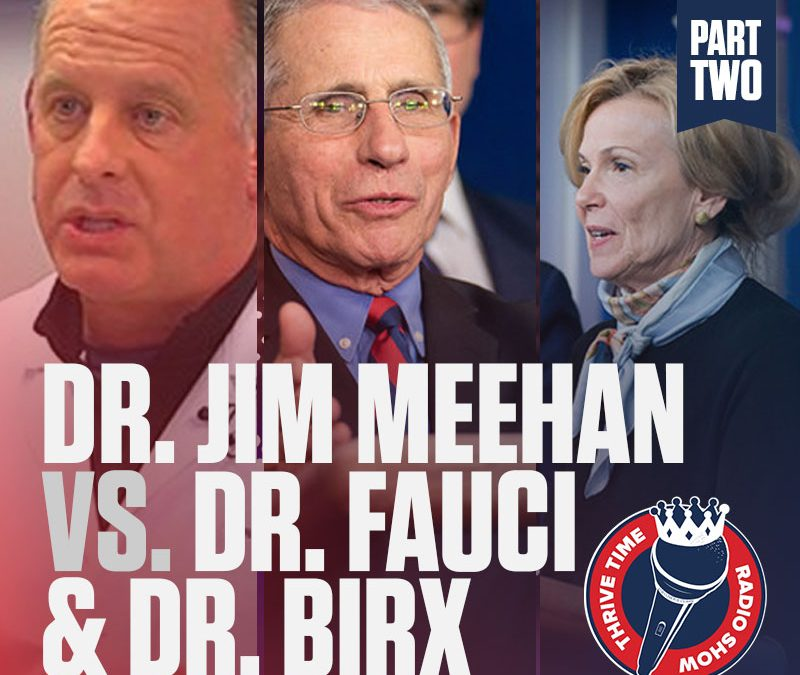 (Part 2 of 2) Doctor Jim Meehan versus Doctor Fauci and Dr. Birx | The Facts About the False Models That Spread the Fear and the Inflated Number of Cases and Deaths