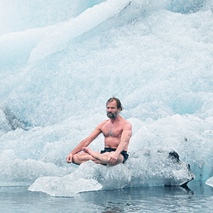 """The Iceman"" Wim Hof on Pushing Through Perceived Limits Enroute to Setting 26 Guinness World Records"