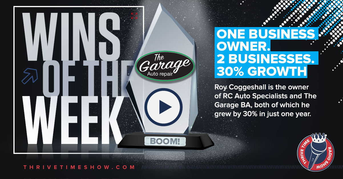 Wins Of The Week Roy Coggeshall Thrivetime Show
