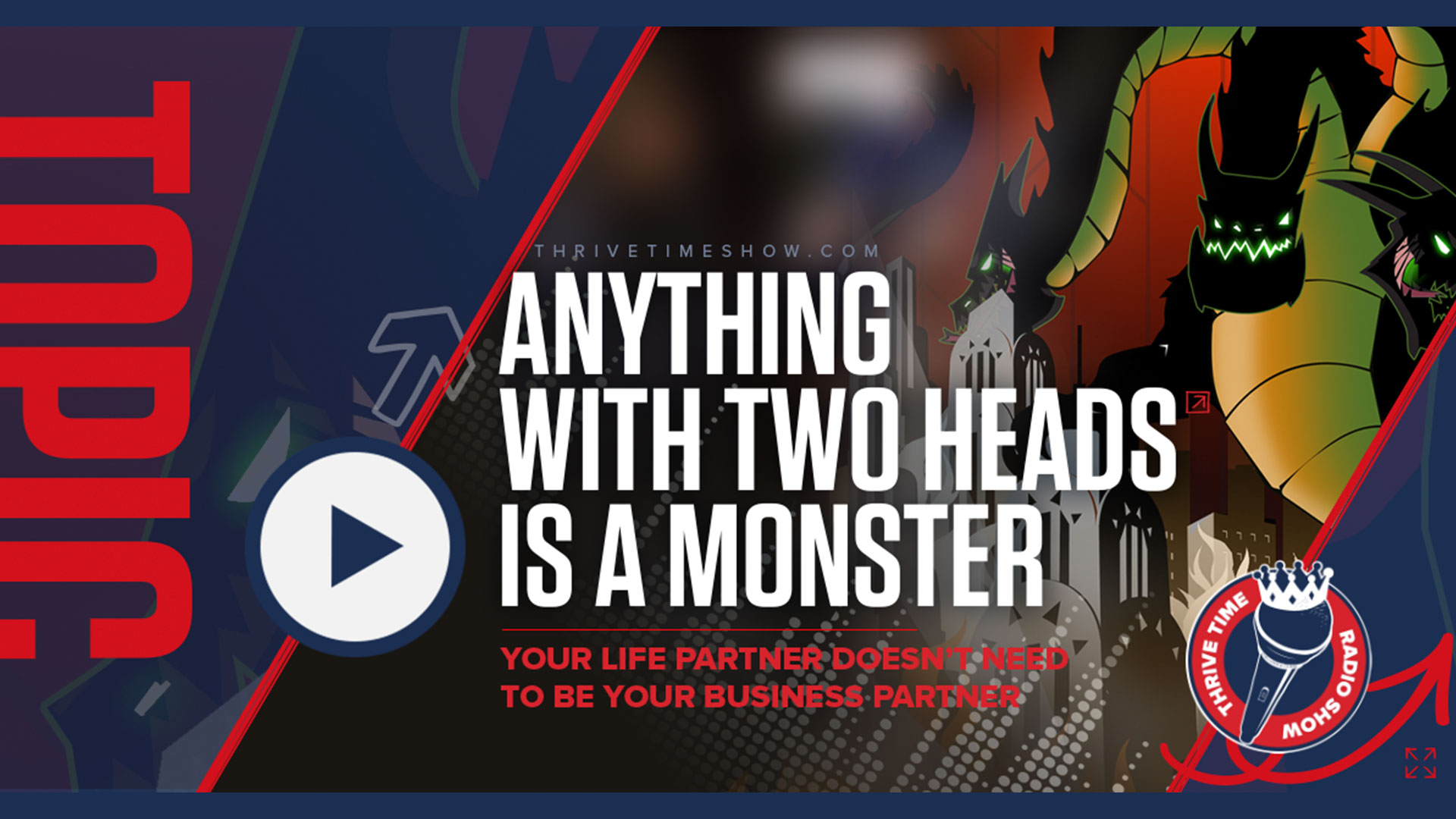 Youtube Anything With Two Heads Is A Monster Thrivetime Show