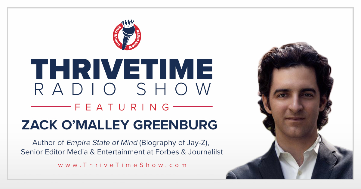 Zack O'Malley Greenburg Thrivetime Show Slides