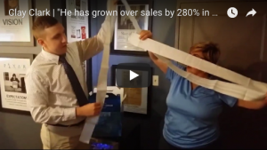 He has grown our sales by over 280% in one year