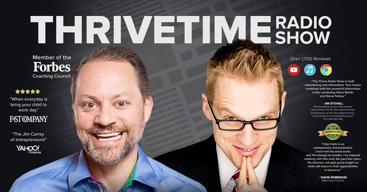 Best Business Podcasts - ThriveTime Show - Clay & Dr. Z