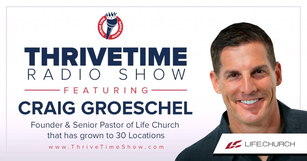 Best Rated Business Podcasts Thrivetime Show Craig Groeschel