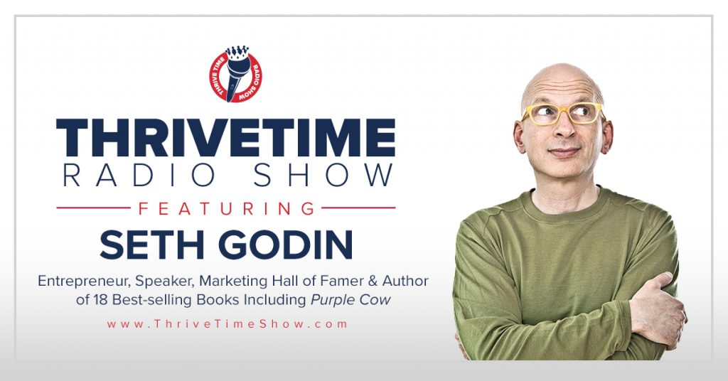 Best Rated Business Podcasts Thrivetime Show Seth Godin