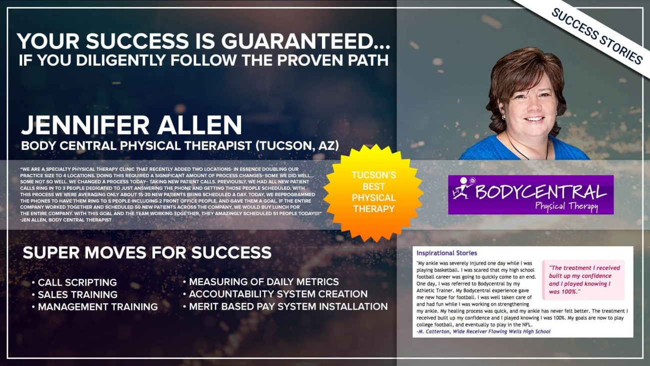 Business Coach | Success Jennifer Allen - Thrive15