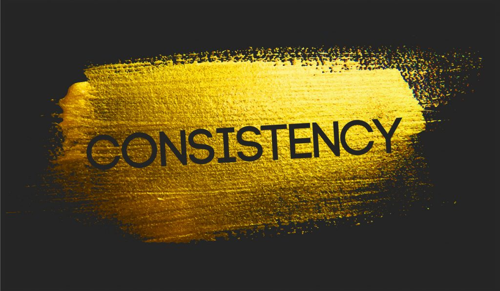 Be Consistent class=