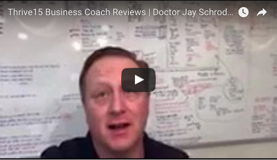 Business Coach | Dr. Jay Schroder Testimonial