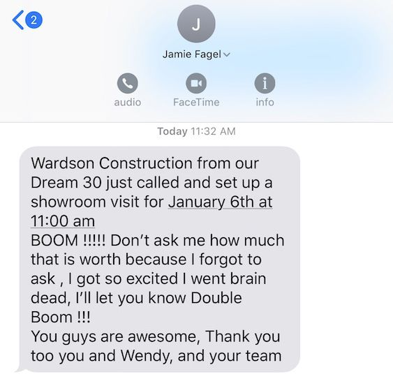 Business Coaching Does It Work Dream 100 Win 1
