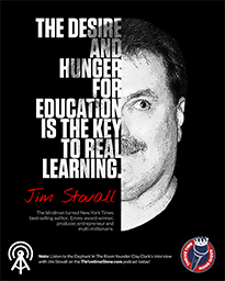 Business Podcasts Thrivetime Show Poster Jim Stovall Quote