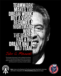 Business Podcasts Thrivetime Show Poster John Maxwell Quote