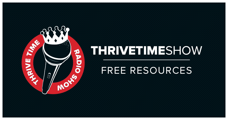 Business Podcasts Thrive Free Resources Title