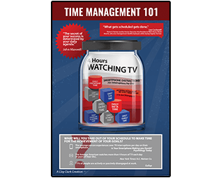 Business Podcasts Thrivetime Show Poster Time Management 101