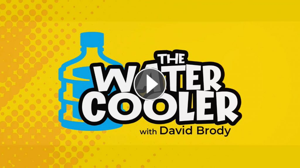 Clay Clark On Water Cooler David Brody