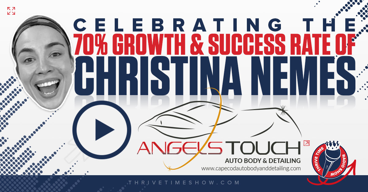 Facebook Celebrating The 70 Growth And Success Rate Of Christina Nemes Thrivetime Show