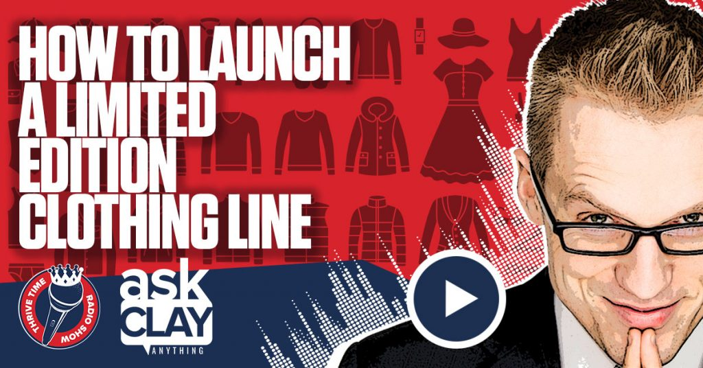 Facebook Limited Edition Clothing Line Ask Clay Anything