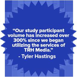 Starburst - Study Volume Increased by 300%