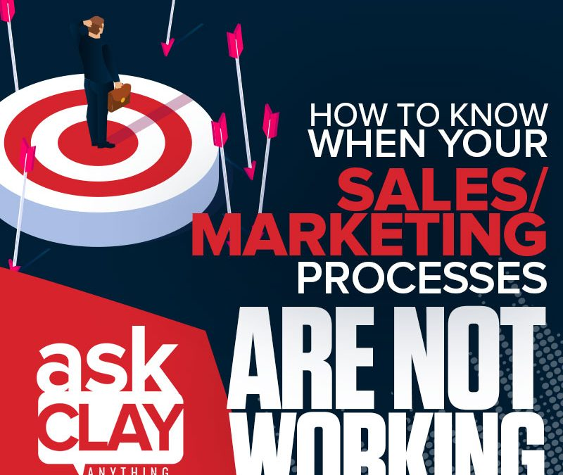 How to Know When Your Sales/Marketing Processes Are Not Working | Ask Clay Anything